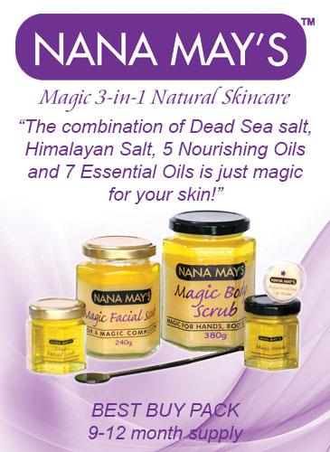 Nana Mays Magic 3-in-1 Natural Skincare | store | 20 Sharon Cres, Mountain Creek QLD 4557, Australia | 0419135506 OR +61 419 135 506