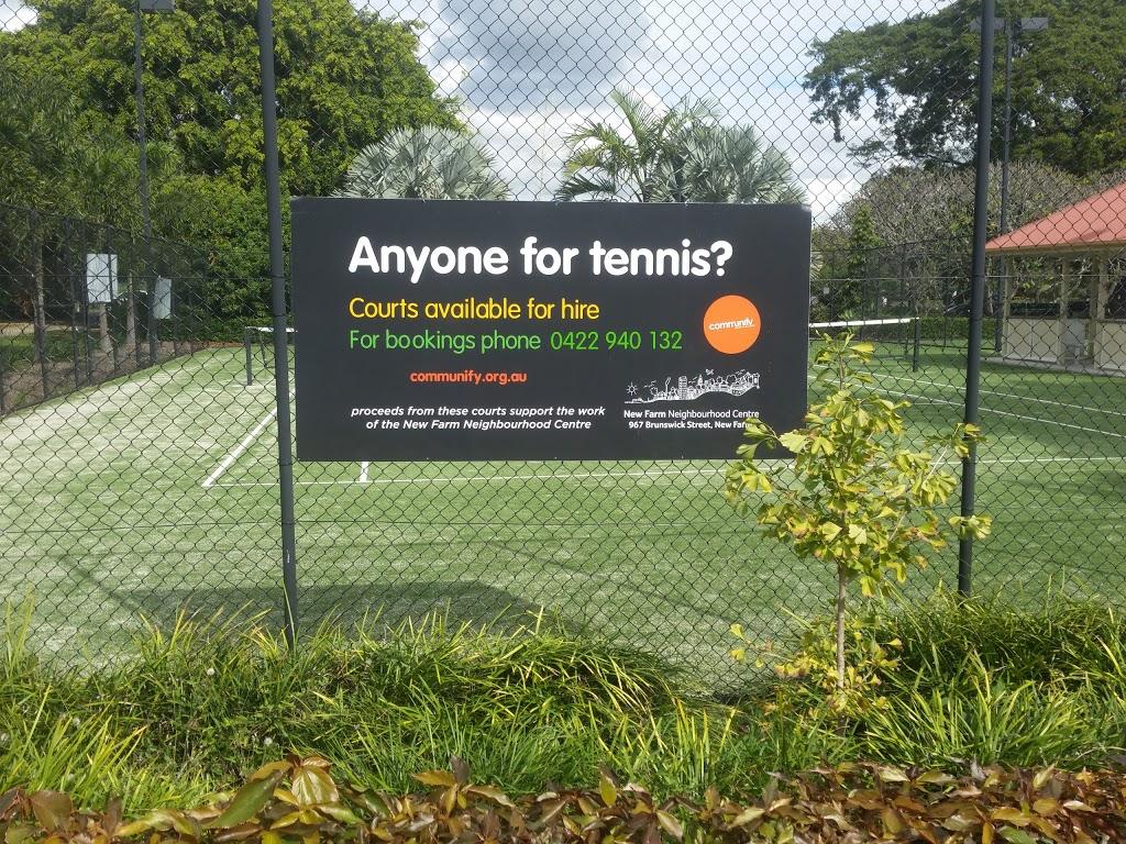 Tennis Courts New Farm Park | gym | 13 Hopetoun Way, New Farm QLD 4005, Australia | 0422940132 OR +61 422 940 132