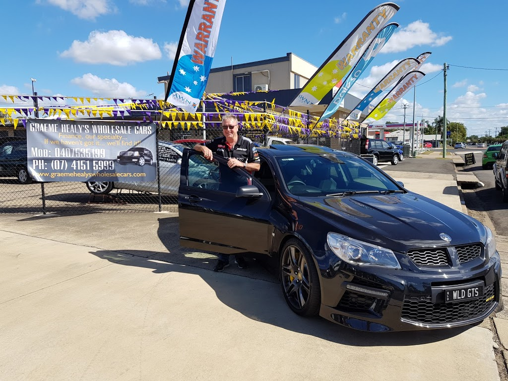 Graeme Healys Wholesale Cars Pty Ltd | car dealer | 64 Gavin St, Bundaberg North QLD 4670, Australia | 0741515999 OR +61 7 4151 5999