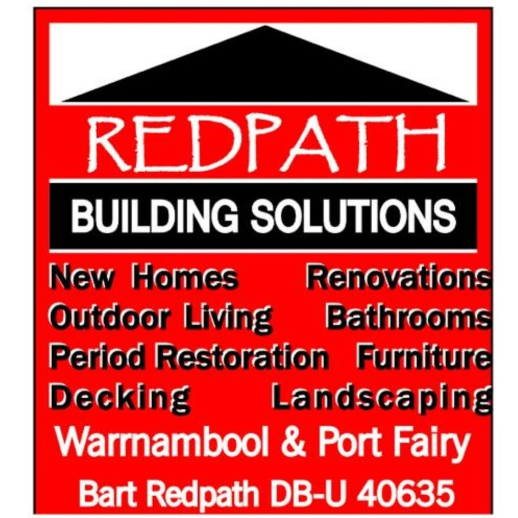 Redpath Building Solutions P/L | home goods store | 3 Anna Catherine Dr, Port Fairy VIC 3284, Australia | 0409400620 OR +61 409 400 620