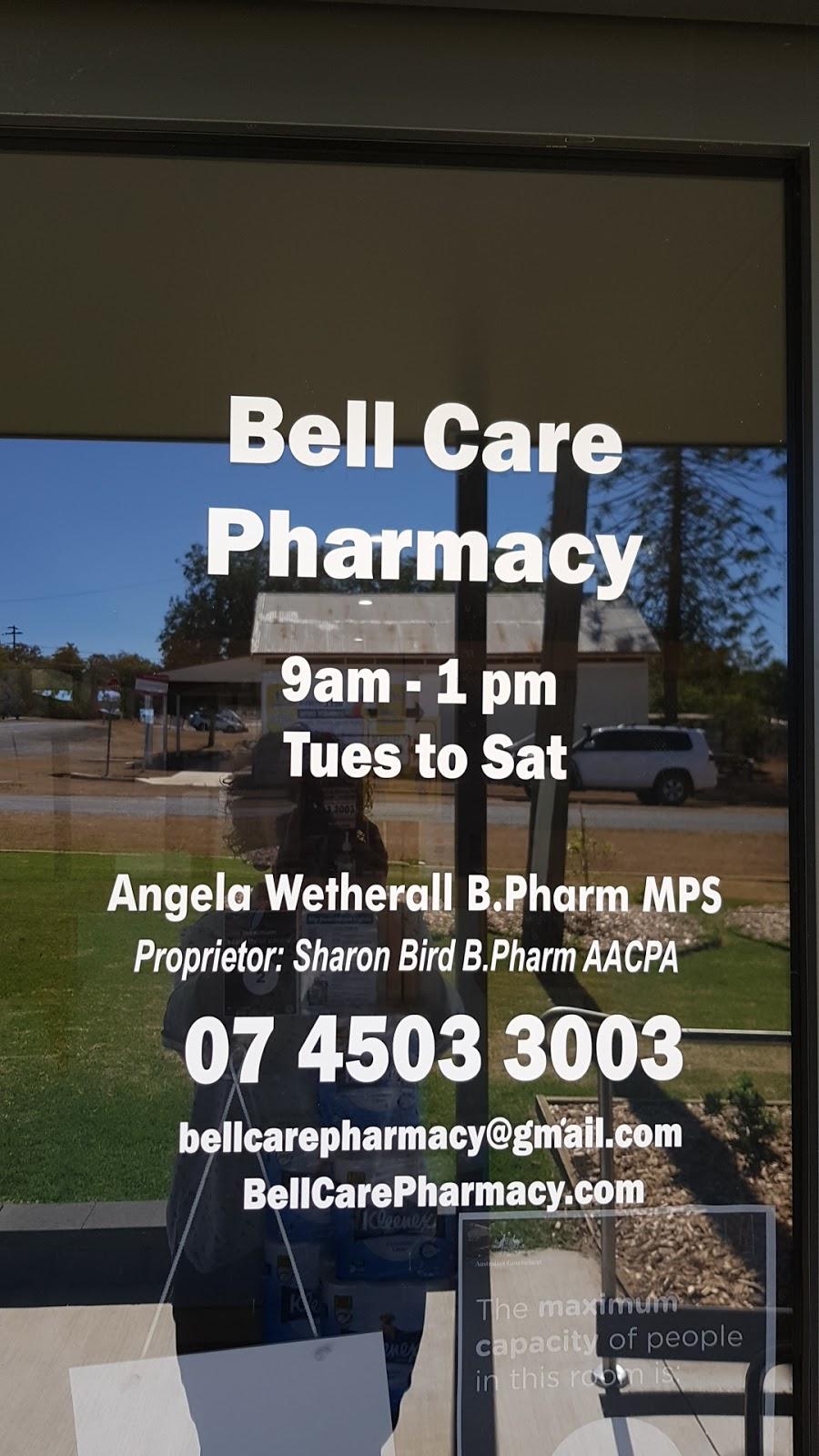 Bell Care Pharmacy | pharmacy | 3 Ensor St, Bell QLD 4408, Australia | 0745033003 OR +61 7 4503 3003