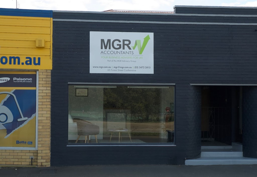 MGR Accountants   accounting   65 Forest St, Castlemaine VIC 3450, Australia   0354722415 OR +61 3 5472 2415