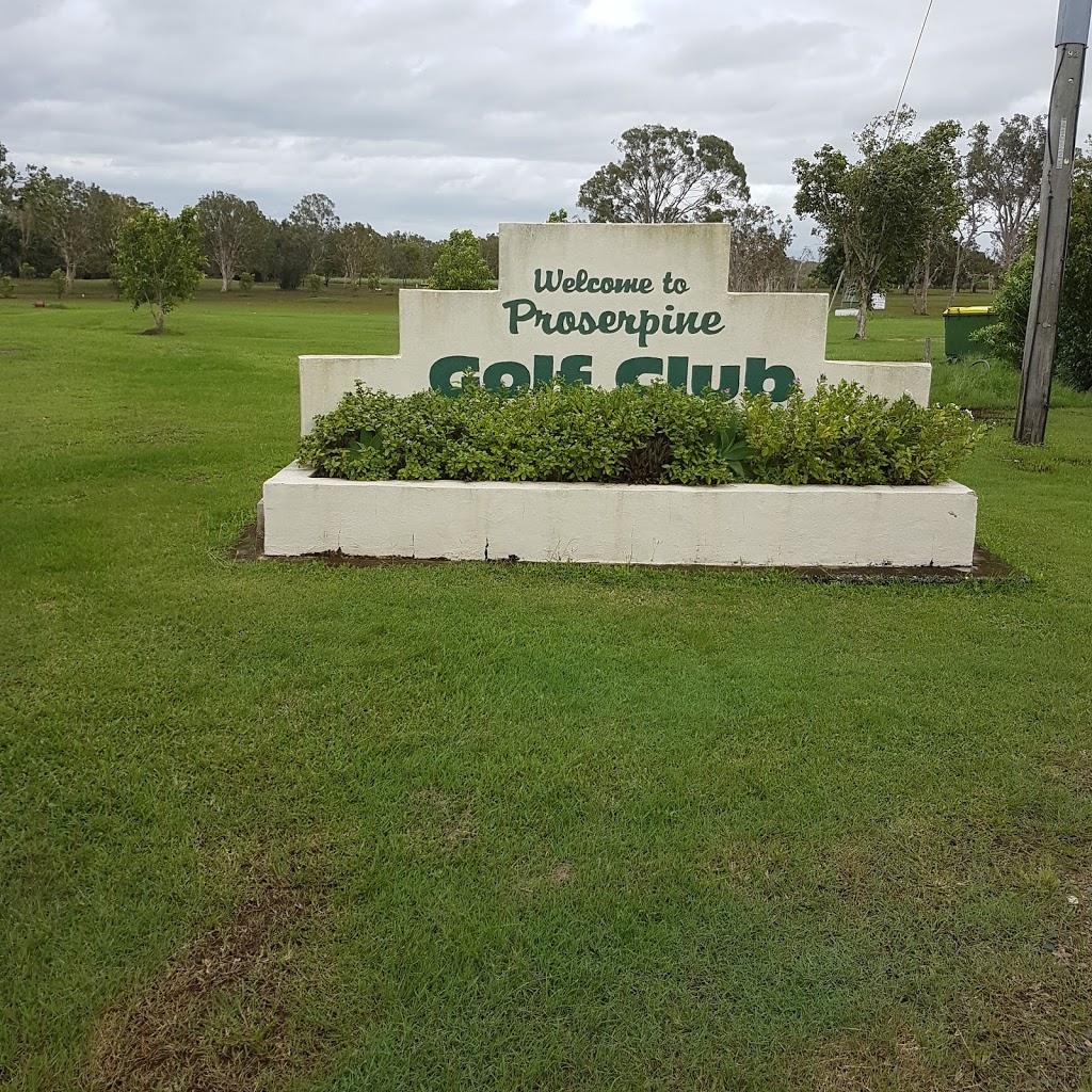 Proserpine Golf Club | point of interest | Anzac Rd, Proserpine QLD 4800, Australia | 0749451337 OR +61 7 4945 1337