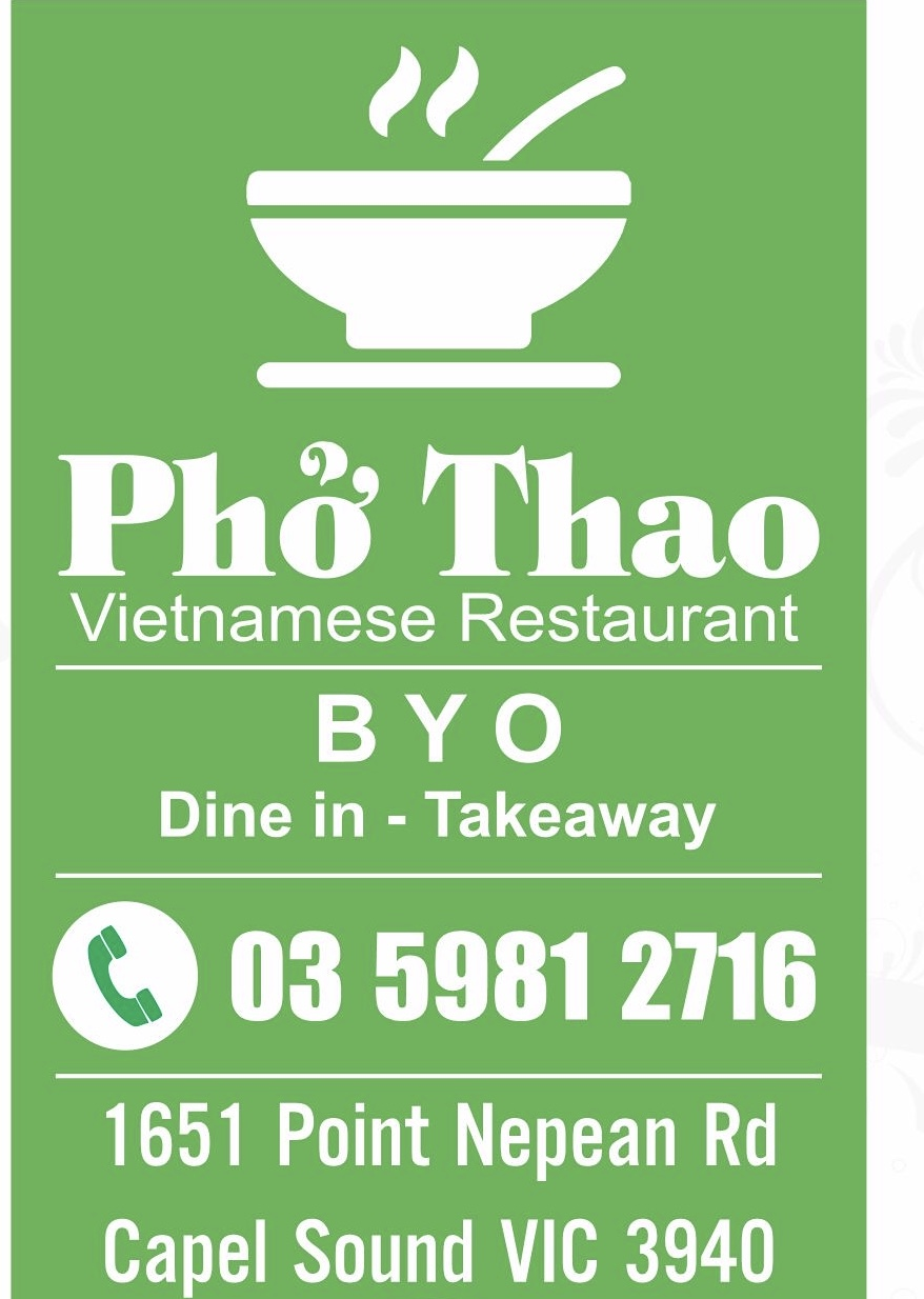 Pho Thao Vietnamese Restaurant | restaurant | 1651 Point Nepean Rd, Capel Sound VIC 3940, Australia | 0359812716 OR +61 3 5981 2716