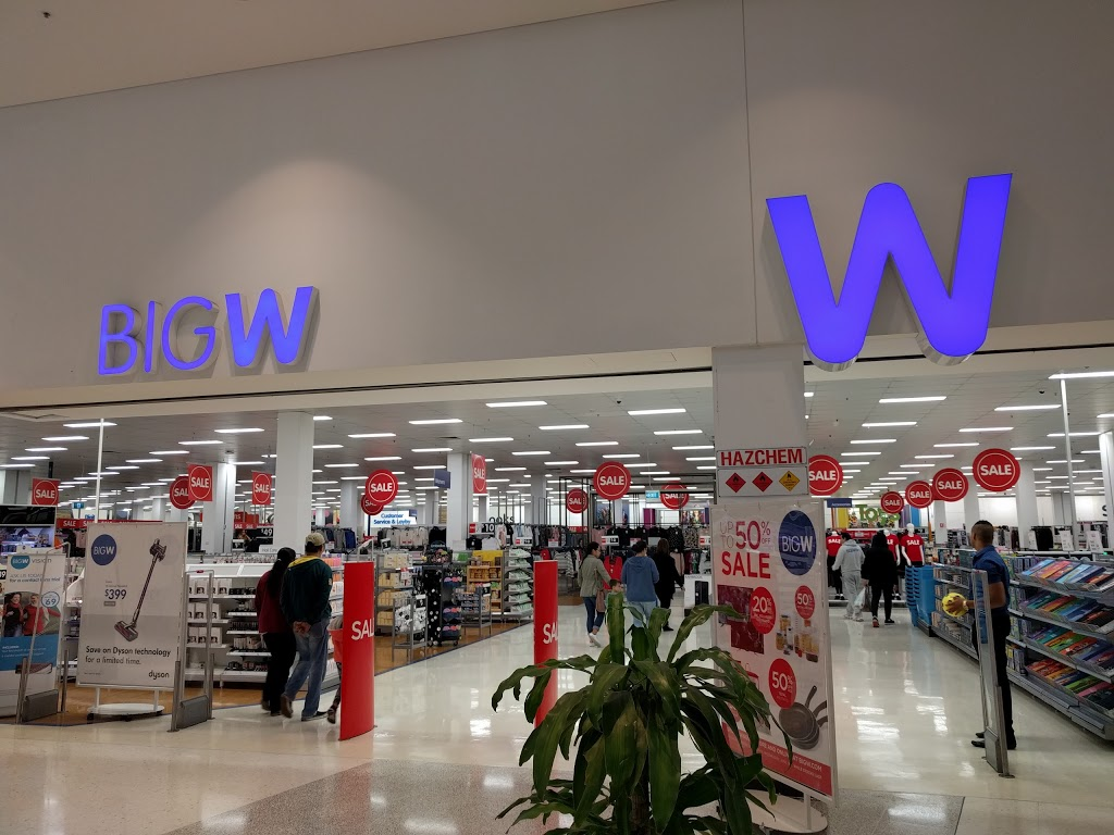 Big w opening times