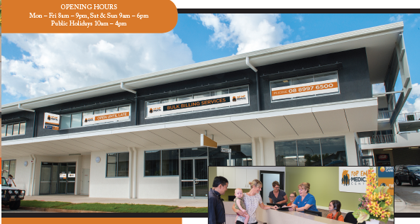Top End Medical Centre | hospital | 1, 164 Forrest Parade, Rosebery NT 0832, Australia | 0889976500 OR +61 8 8997 6500