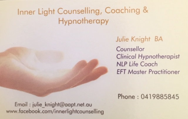 Inner Light Counselling & Therapies | health | 4 Dudley St, West Gladstone QLD 4680, Australia | 0419885845 OR +61 419 885 845