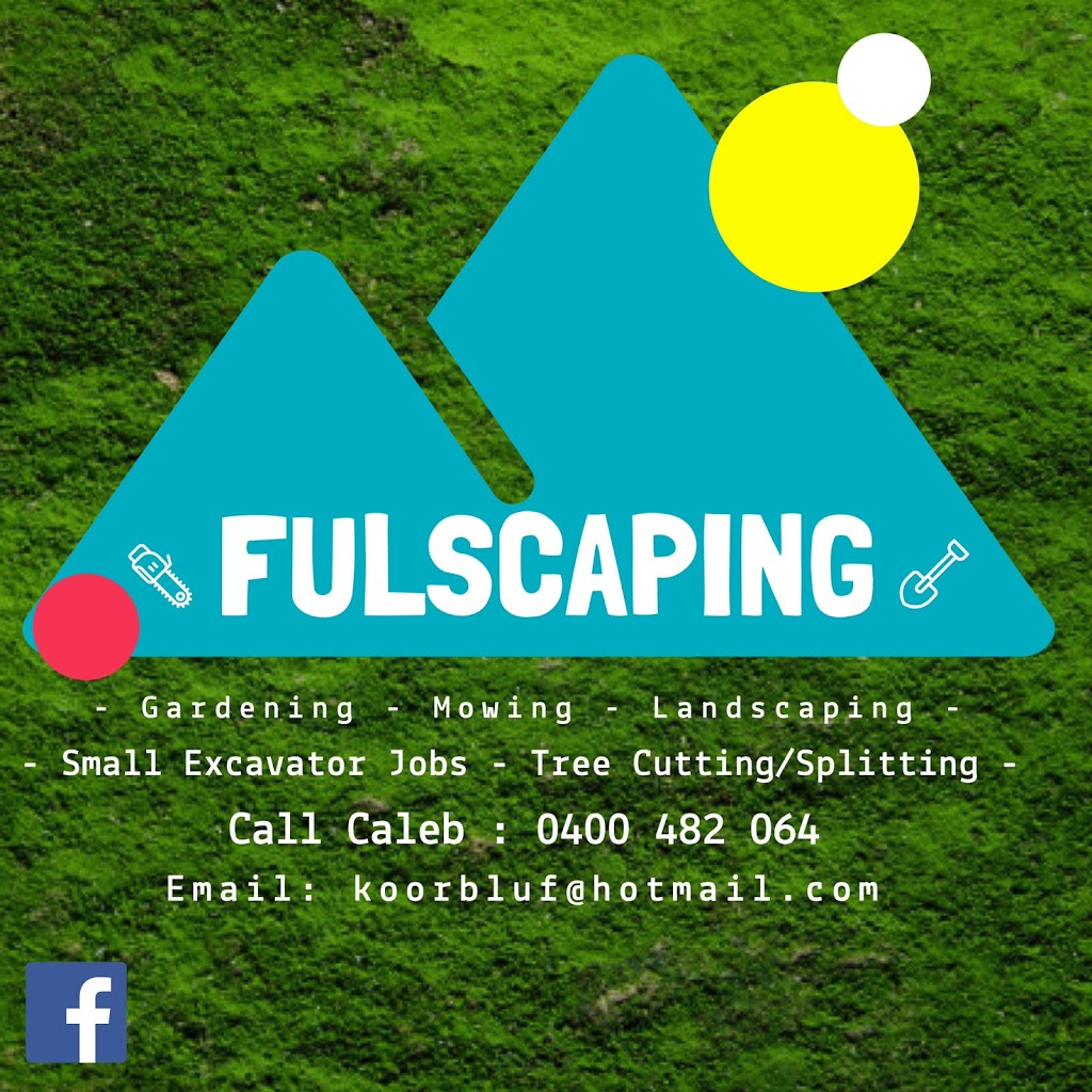 Fulscaping | general contractor | 5 Billabong Rd, Haddon VIC 3351, Australia | 0400482064 OR +61 400 482 064