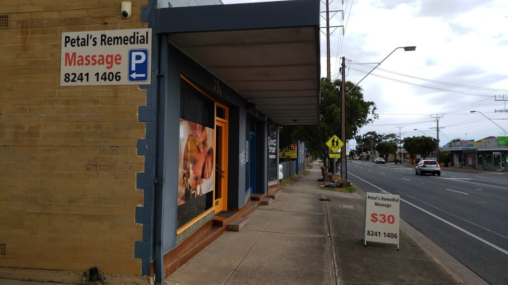 Petals Remedial Massage | doctor | 73A Tapleys Hill Rd, Hendon SA 5014, Australia | 0882411406 OR +61 8 8241 1406