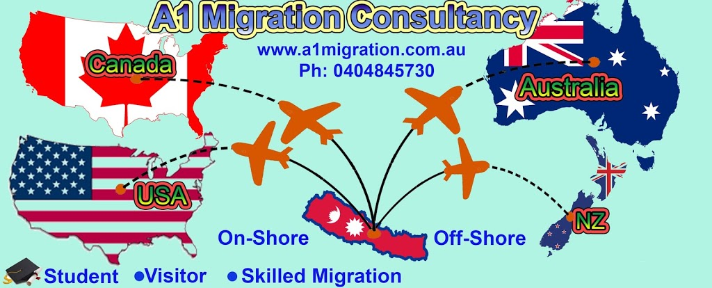 A1 Migration & Education Consultancy | lawyer | Suite 1, Level 1/189 Liverpool Rd, Ashfield NSW 2131, Australia | 0404845730 OR +61 404 845 730