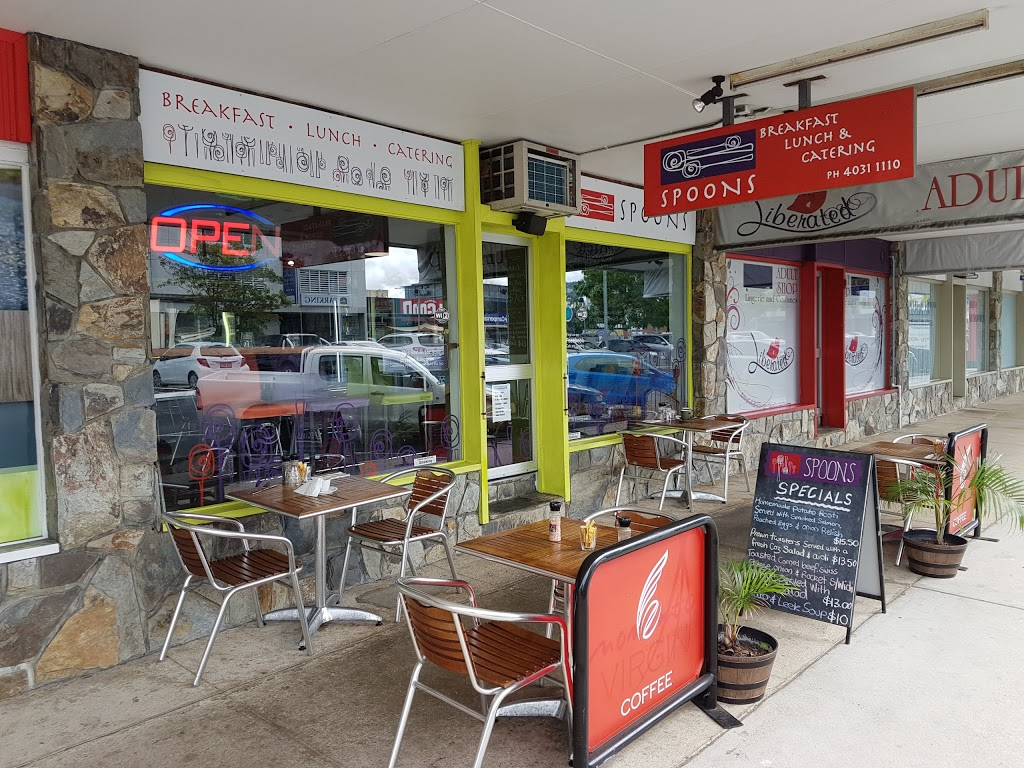 Spoons Cafe and Catering | cafe | 102 McLeod St, Cairns City QLD 4870, Australia | 0740311110 OR +61 7 4031 1110