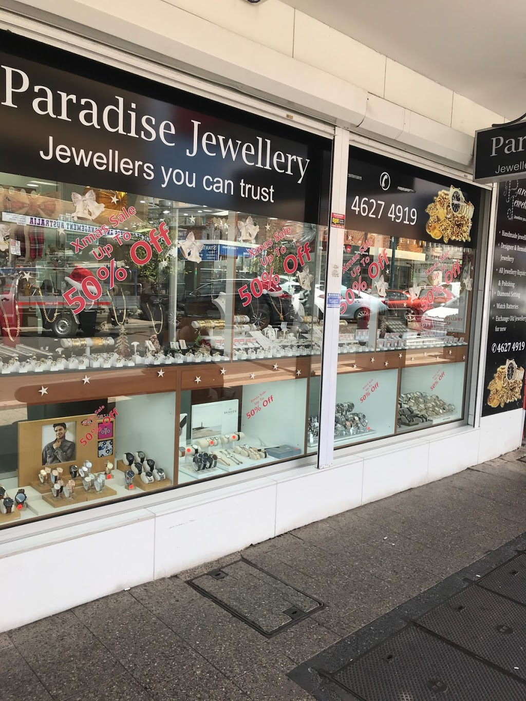Paradise Jewellery | jewelry store | Shop 1/159-165 Queen St, Campbelltown NSW 2560, Australia | 0246274919 OR +61 2 4627 4919