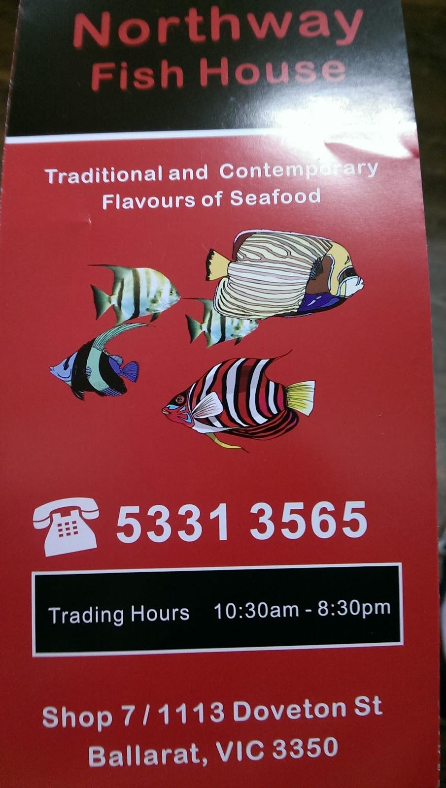 Northway Fish House | meal takeaway | 7/1113 Doveton St N, Ballarat North VIC 3350, Australia | 0353313565 OR +61 3 5331 3565