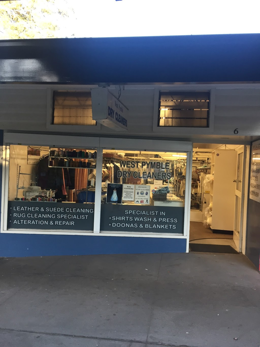 West Pymble Dry Cleaners Laundry 6 Philip Mall West