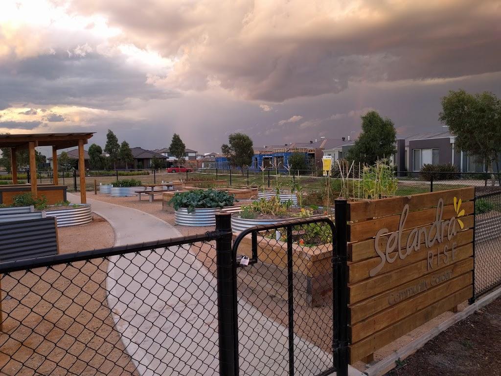 Selandra Rise Community Garden | park | Clyde North VIC 3978, Australia