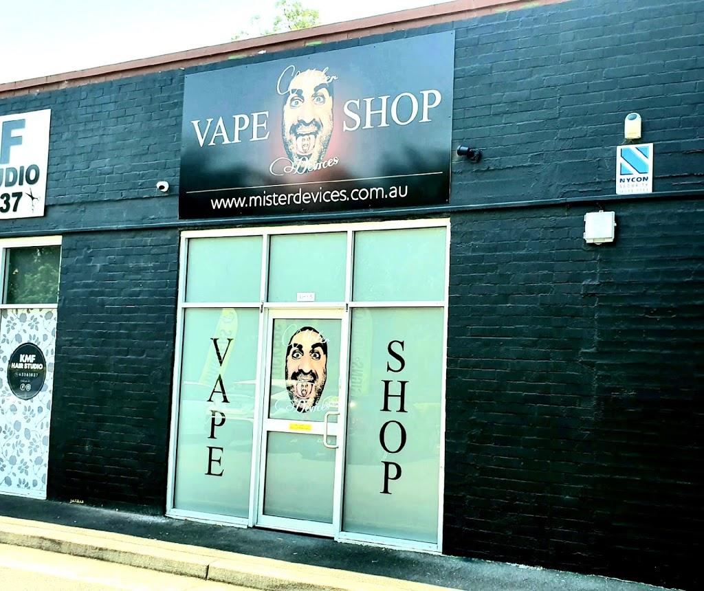 Mister Devices Vape Shop - West Gosford   store   Unit 5/37 Central Coast Hwy, West Gosford NSW 2250, Australia   0290558854 OR +61 2 9055 8854