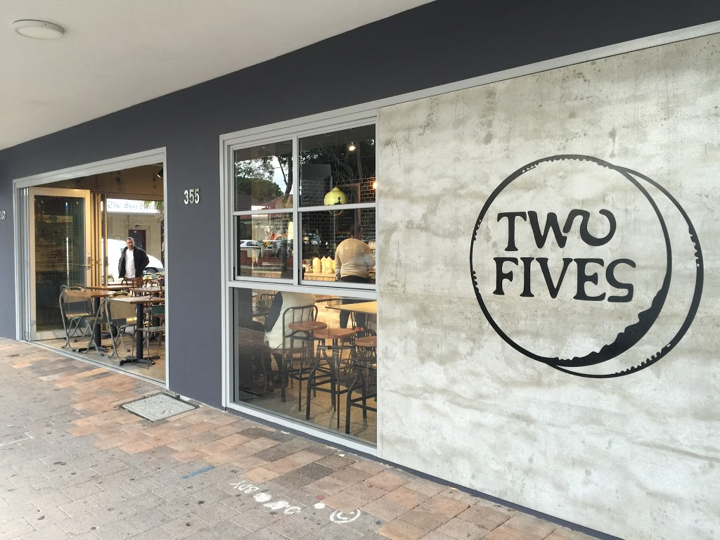 Cafe Two Fives | cafe | 355 Gardeners Rd, Rosebery NSW 2018, Australia | 0296691611 OR +61 2 9669 1611