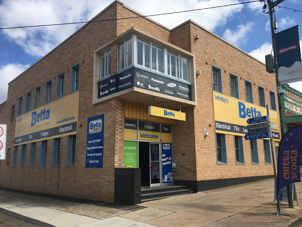WHITBYS BETTA HOME LIVING - NARRANDERA | electronics store | 72 East St, Narrandera NSW 2700, Australia | 0269592105 OR +61 2 6959 2105