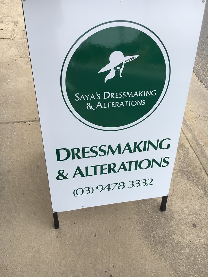 Sayas Dressmaking & Alterations | clothing store | 515 Gilbert Rd, Preston VIC 3072, Australia | 0394783332 OR +61 3 9478 3332