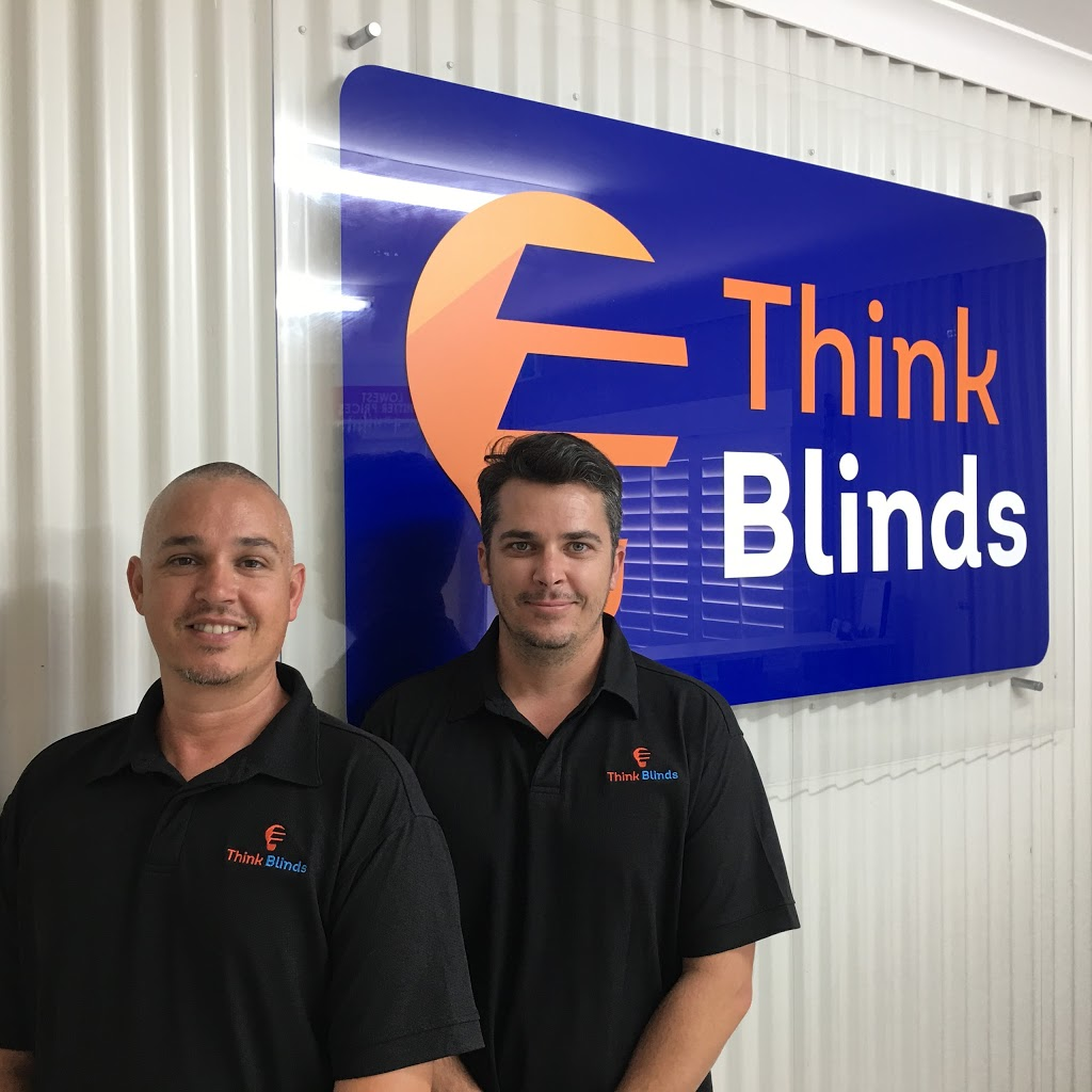 Think Blinds | home goods store | 2a/22 Commercial St, Svensson Heights QLD 4670, Australia | 0741525345 OR +61 7 4152 5345
