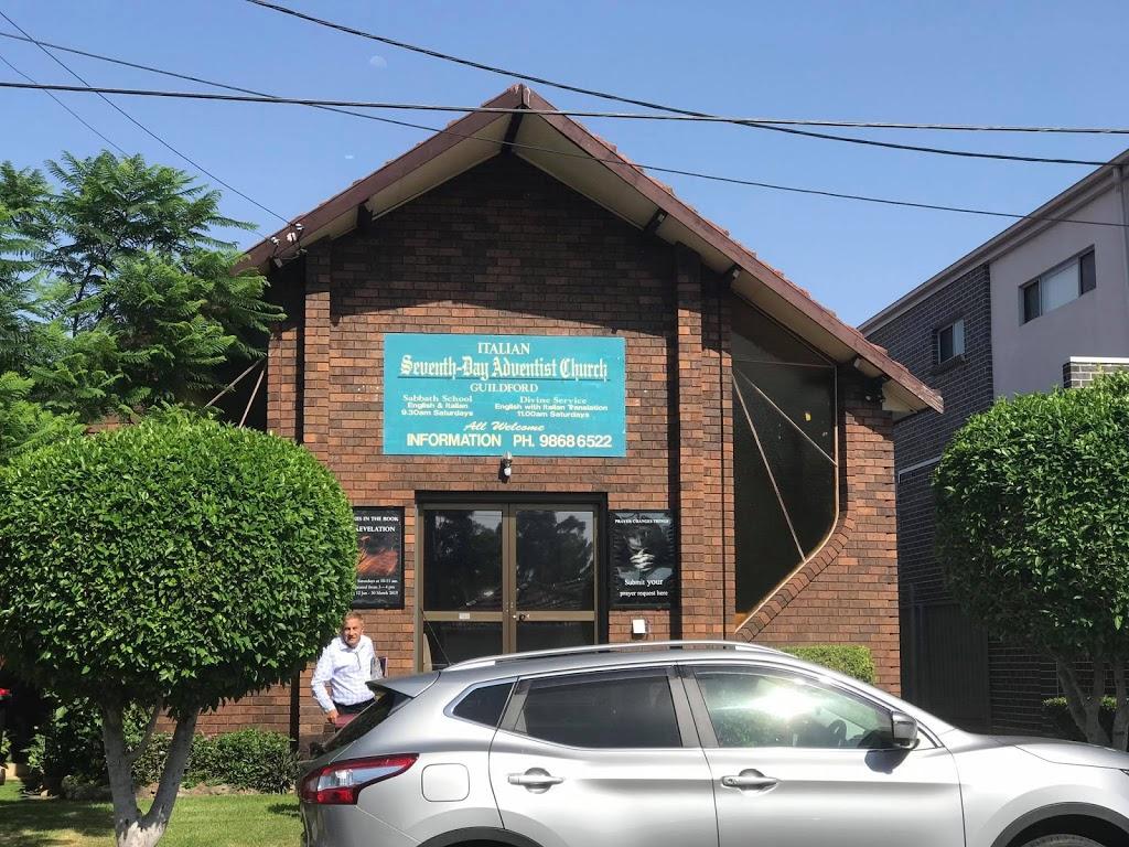 Guildford Italian Seventh-day Adventist Church | church | 40 Allison Rd, Guildford NSW 2161, Australia