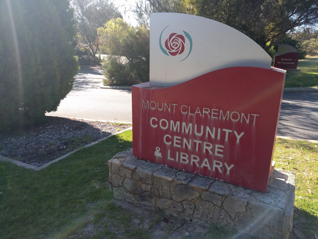 Mt Claremont Library | library | 105 Montgomery Ave, Mount Claremont WA 6010, Australia | 93831462 OR +61 93831462