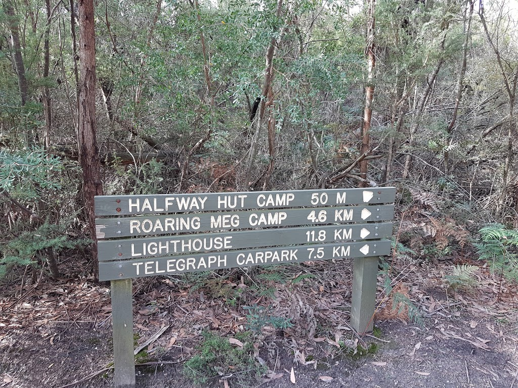 Halfway Hut | campground | Inlet Marine & Coastal Park, Telegraph Track VIC 3960, Australia | 0356809555 OR +61 3 5680 9555
