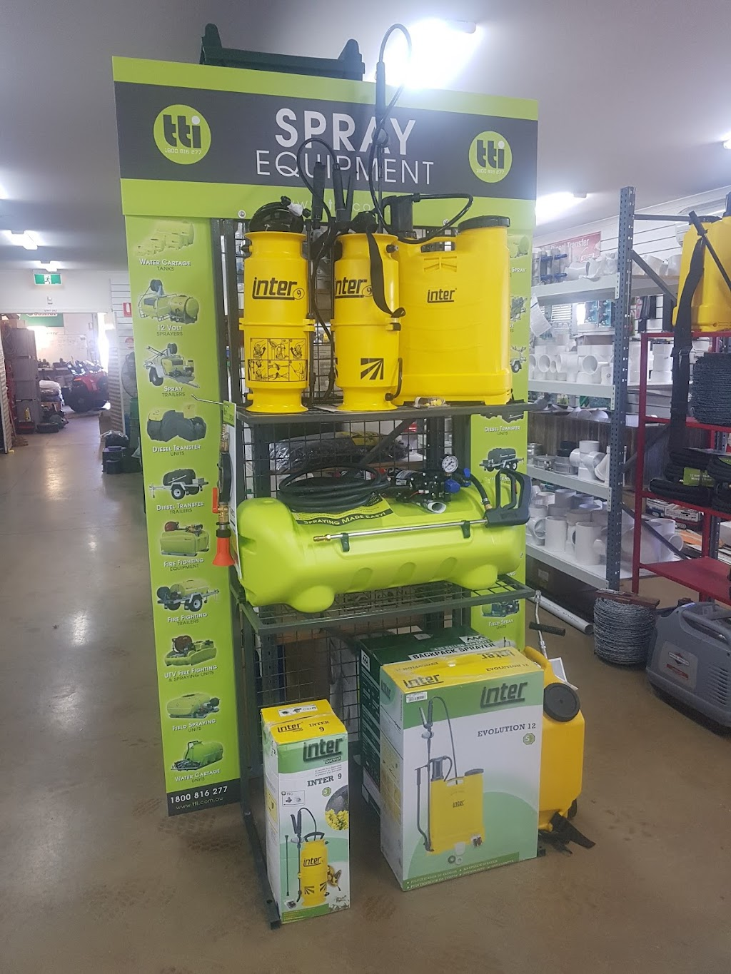 Statewide Irrigation & Rural Supplies | food | 84 Forest St, Castlemaine VIC 3450, Australia | 0354721135 OR +61 3 5472 1135