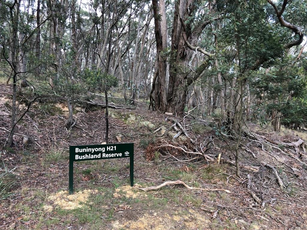 Buninyong H21 Bushland Reserve | park | 477-99 Webbs Hill Rd, Buninyong VIC 3357, Australia