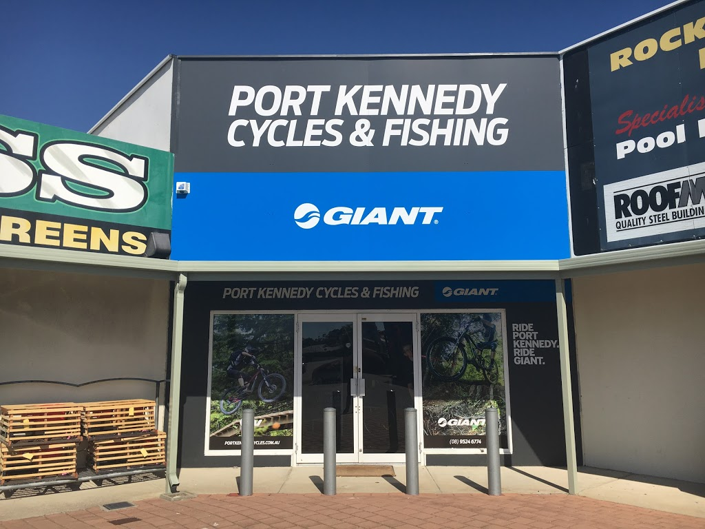 Port Kennedy Cycles and Fishing | bicycle store | 2/4 Bakewell Dr, Port Kennedy WA 6172, Australia | 0895246774 OR +61 8 9524 6774