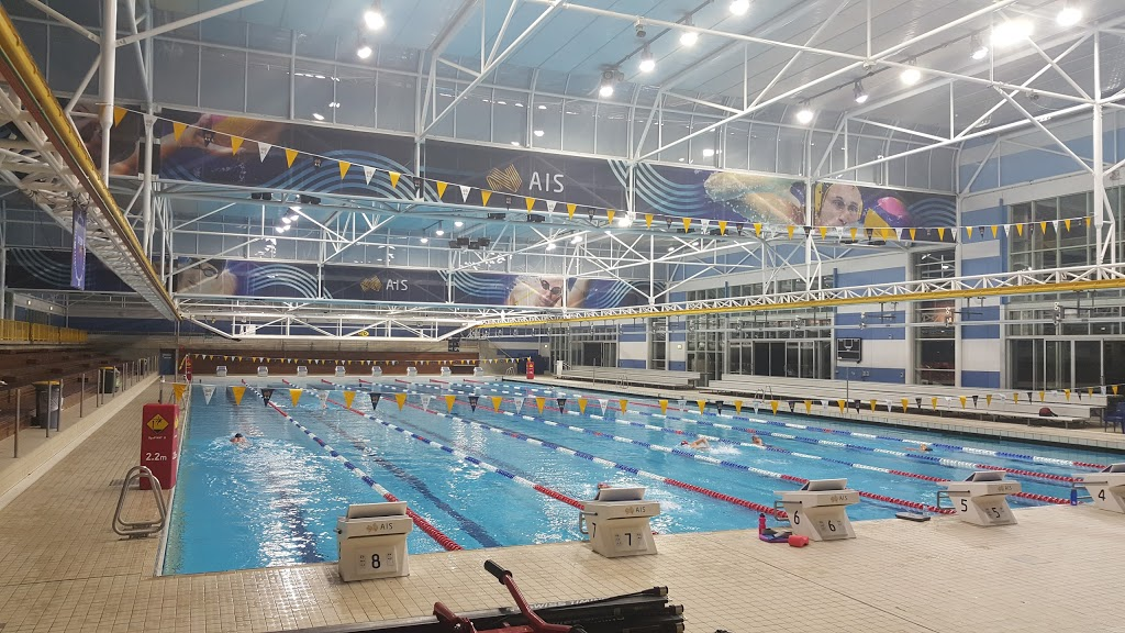 AIS Aquatic and Fitness Centre | health | Leverrier St, Bruce ACT 2617, Australia | 0262141281 OR +61 2 6214 1281