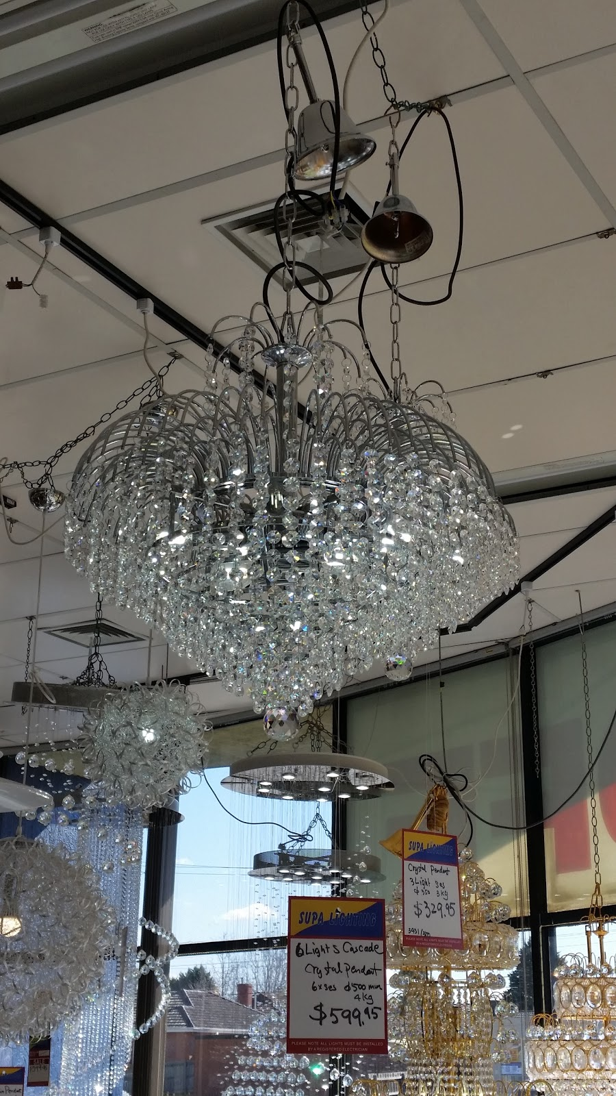 Supa Lighting | home goods store | 122-126 Springvale Rd, Springvale VIC 3171, Australia | 0395624546 OR +61 3 9562 4546