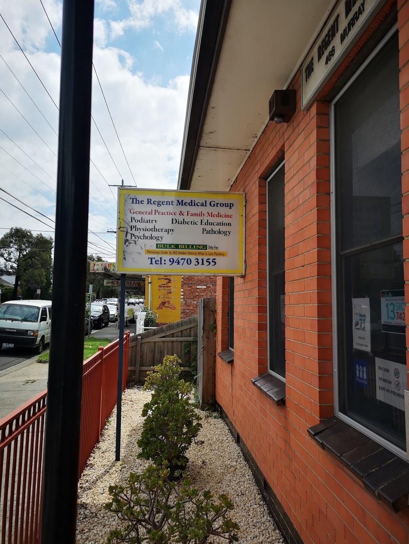 The Regent Medical Group | hospital | 466 Murray Rd, Preston West VIC 3072, Australia | 0394703155 OR +61 3 9470 3155
