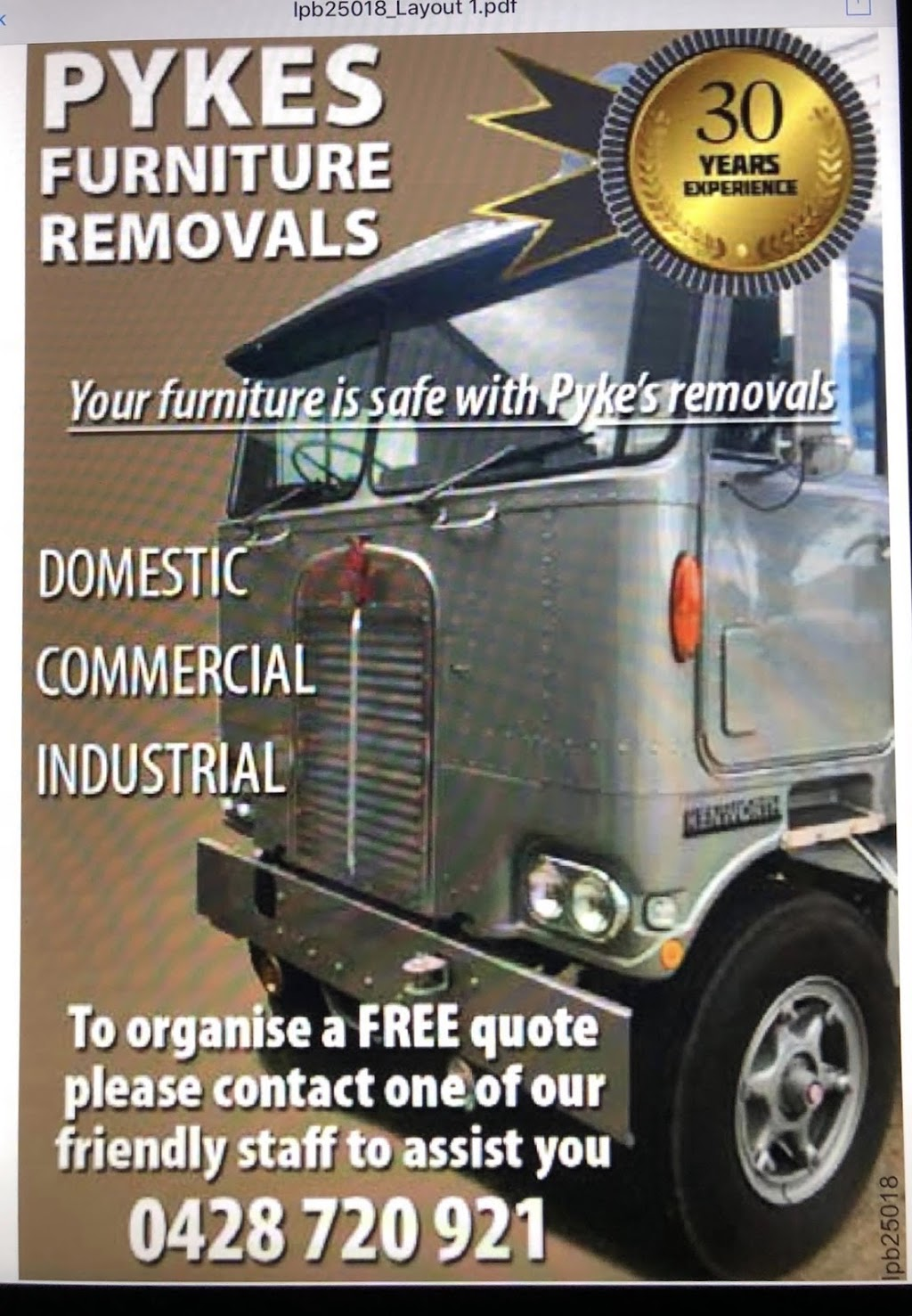 Pykes furniture removals | moving company | 1 Swan Ct, Narre Warren South VIC 3805, Australia | 0428720921 OR +61 428 720 921