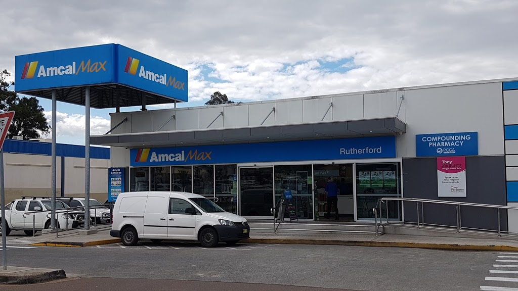 Amcal Max Rutherford | pharmacy | shop 6/1 E Mall, Rutherford NSW 2320, Australia | 0249325155 OR +61 2 4932 5155