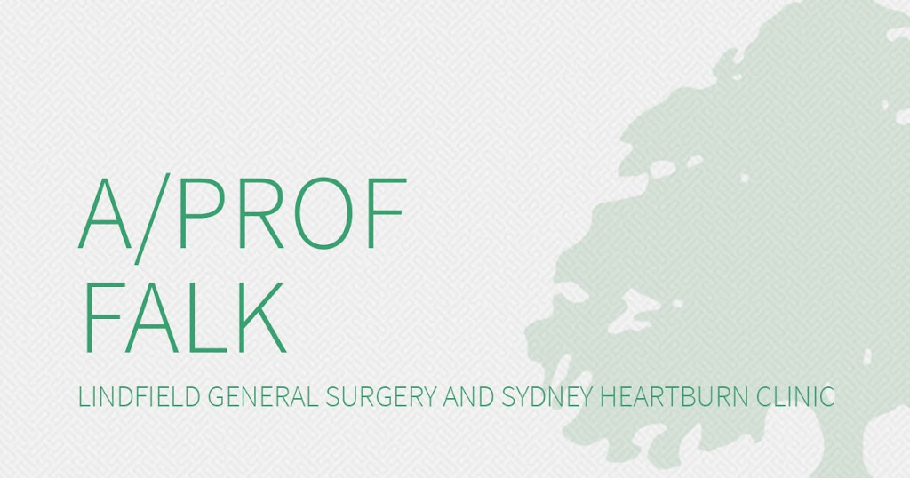 Professor Gregory Falk - Lindfield General Surgery / Sydney Hear | doctor | 29/12-18 Tryon Rd, Lindfield NSW 2070, Australia | 0297451099 OR +61 2 9745 1099