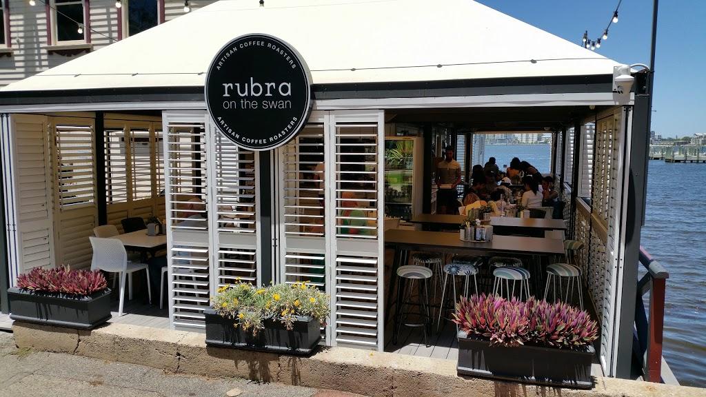 Rubra on the Swan | cafe | 171 Riverside Dr, Perth WA 6000, Australia | 0865551844 OR +61 8 6555 1844