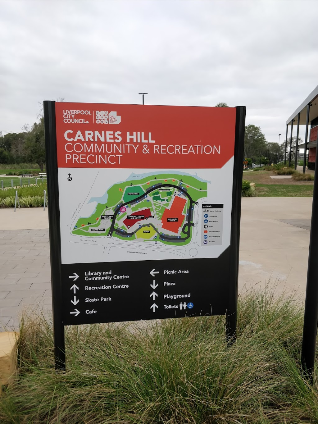 Carnes Hill Library | library | 600 Kurrajong Rd, Carnes Hill NSW 2171, Australia | 0287117222 OR +61 2 8711 7222