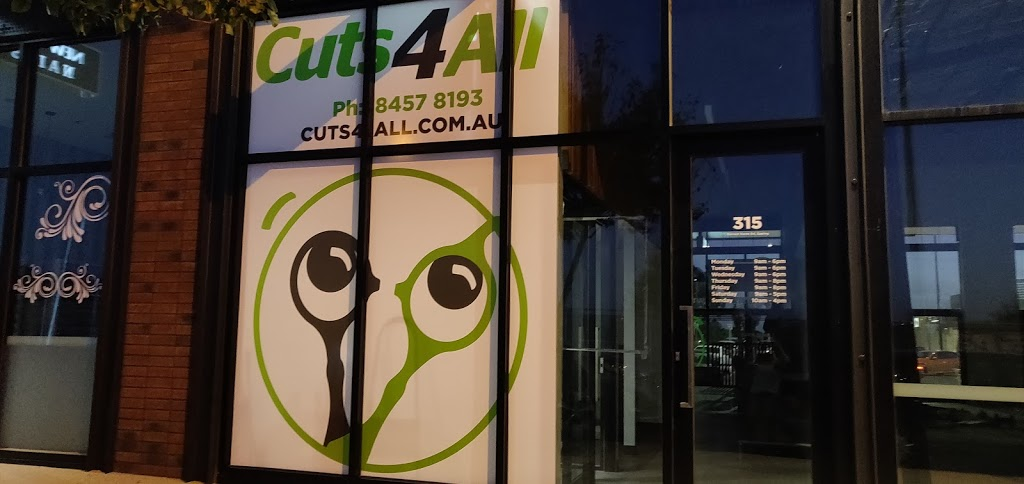 Cuts4All | hair care | Aurora Village, 315 Harvest Home Rd, Epping VIC 3076, Australia | 0384578193 OR +61 3 8457 8193