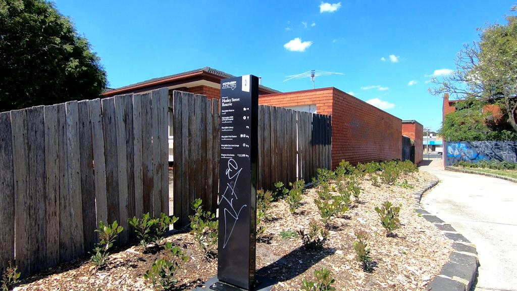 Healey Street Reserve, Moorabbin   park   20 Healey St, Moorabbin VIC 3189, Australia