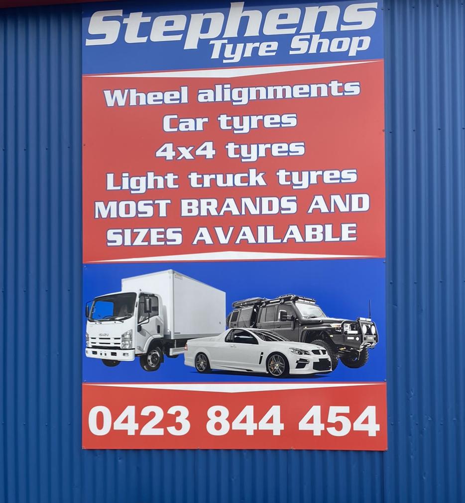 Stephens Tyre Shop Smithfield   car repair   71 Anderson Walk, Smithfield SA 5114, Australia   0884861145 OR +61 8 8486 1145