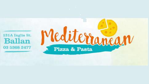 Mediterranean Pizza & Pasta | meal takeaway | 131A Inglis St, Ballan VIC 3342, Australia | 0353682477 OR +61 3 5368 2477