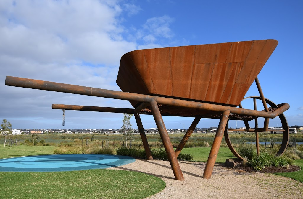 8t Wheel Barrow Sculpture | park | Clyde VIC 3978, Australia