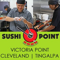 Sushi Point   restaurant   Victoria Point Lakeside, H6/11 Bunker Rd, Victoria Point QLD 4165, Australia   0732070565 OR +61 7 3207 0565