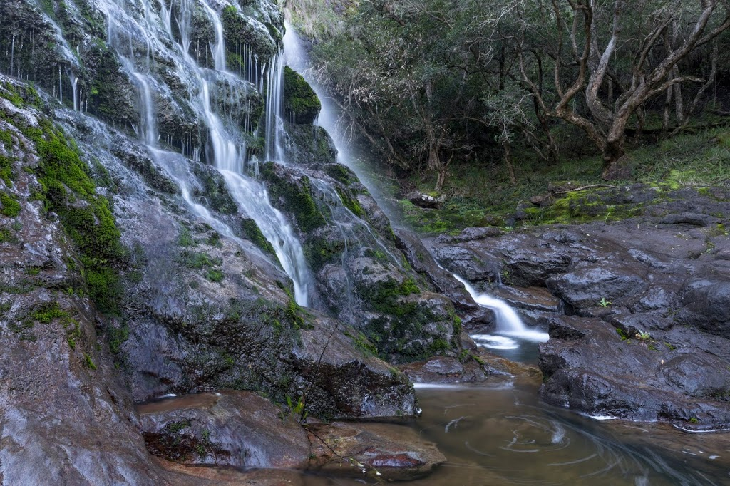 Basin Creek Falls | point of interest | Old Basin Rd, Buchan VIC 3885, Australia | 131963 OR +61 131963