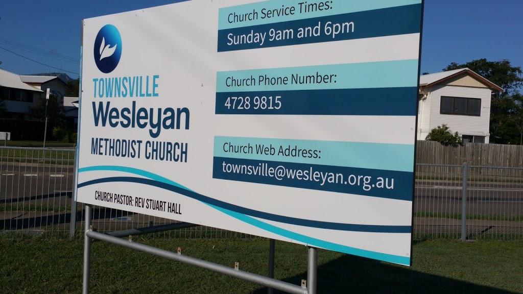 Townsville Wesleyan Methodist Church | church | 3 Strange St, Currajong QLD 4812, Australia | 0747289815 OR +61 7 4728 9815