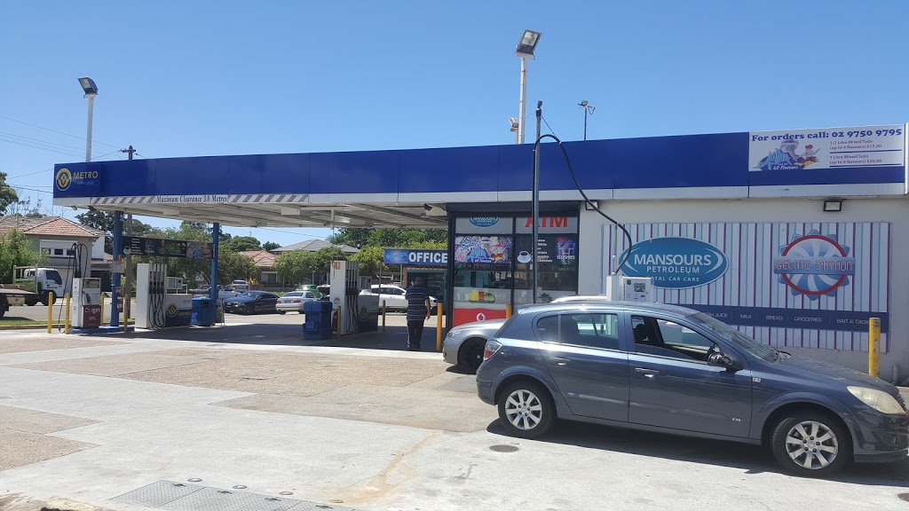Mansours Petroleum | gas station | 10-12 Park Ave, Punchbowl NSW 2196, Australia | 0297591093 OR +61 2 9759 1093