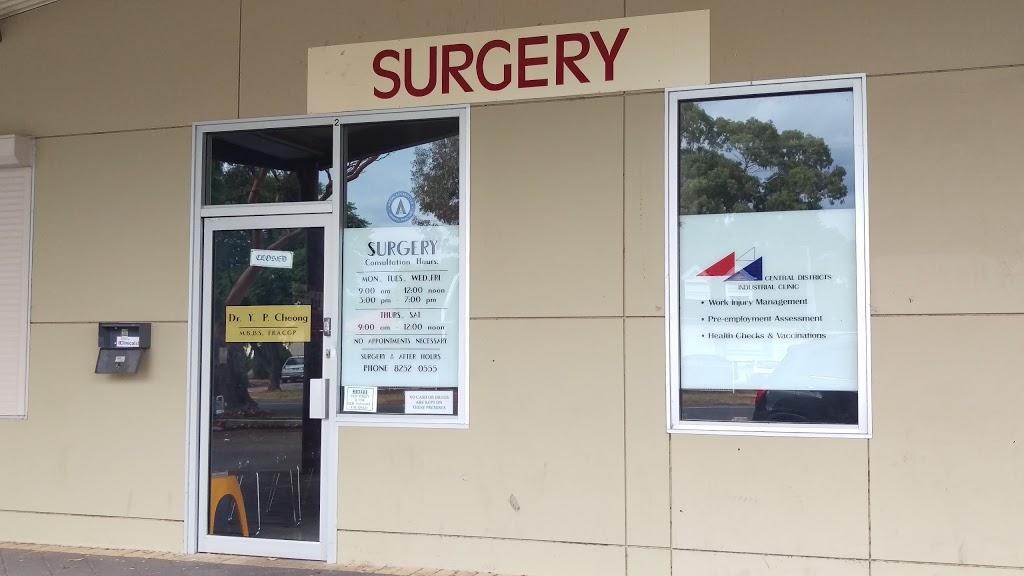 Dr Y. P. Cheong | hospital | 2 Mansfield Parade, Craigmore SA 5114, Australia | 0870784566 OR +61 8 7078 4566