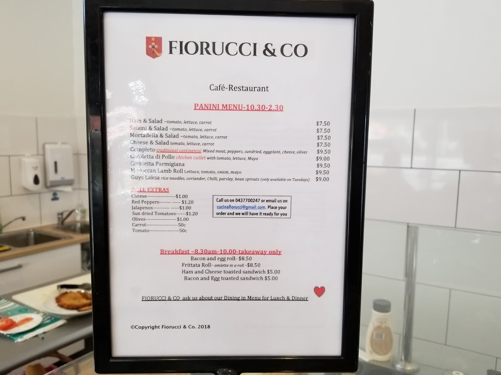 Fiorucci & Co | cafe | Osborne Park WA 6017, Australia | 0452057337 OR +61 452 057 337