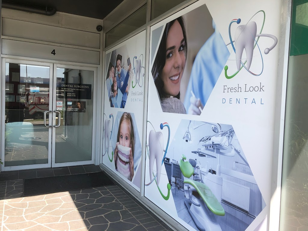 Fresh Look Dental | dentist | Shop 4/818-826 Canterbury Rd, Roselands NSW 2196, Australia | 0297592751 OR +61 2 9759 2751